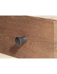 Poignée de meuble en fer forgé main INDUS