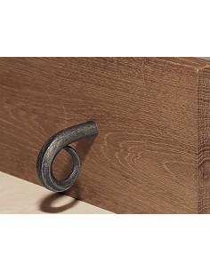 Bouton de meuble en fer forgé main SAURON