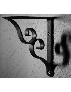 Équerre/Potence murale en fer forgé main LUBERON