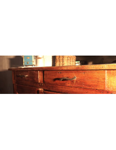 Poignée de meuble en fer forgé main TZIGANE
