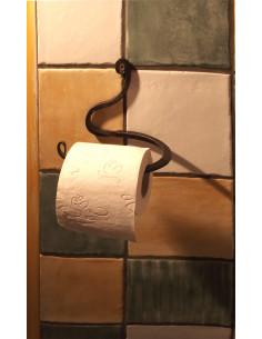 Dérouleur papier toilette en fer forgé main REFLET