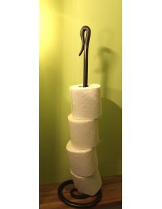 Distributeur papier toilette en fer forgé main KYRIELLE