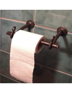 Porte papier toilette en fer forgé main ABYSS
