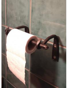 Dérouleur papier toilette en fer forgé main RELAX
