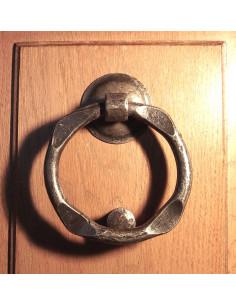 Heurtoir de porte en fer forgé main RIAD