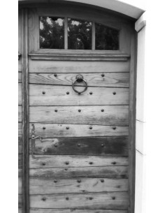 Marteau de porte en fer forgé main RIAD