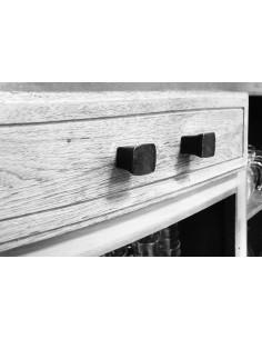 Bouton de meuble en fer forgé main PAVE